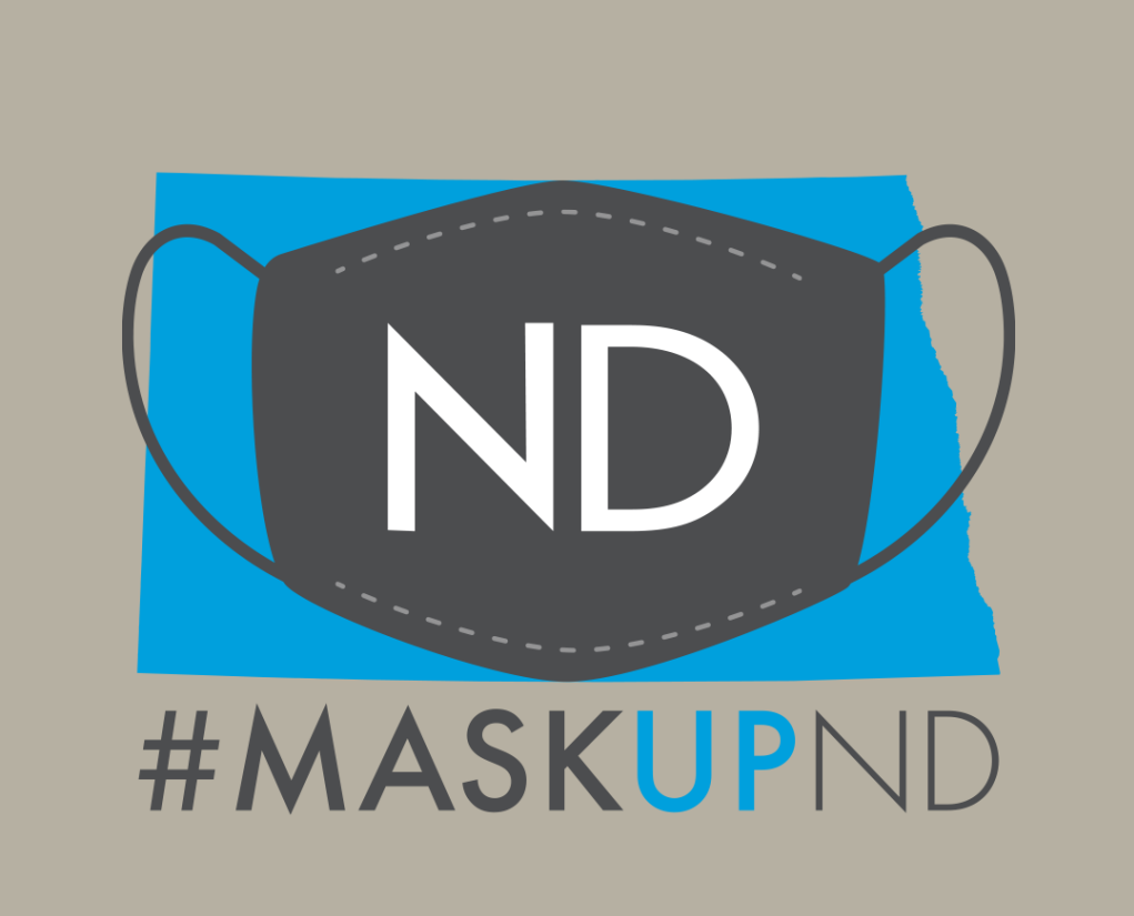 Mask Up North Dakota - Great Plains Housing Authority is requiring all vendors and clients to wear a mask.